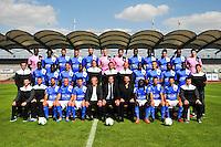 Equipe Niort - 05.09.2014 - Photo officielle Niort - Ligue 2 2014/2015<br /> Photo : Philippe Le Brech / Icon Sport