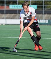 AMSTELVEEN  - Mirco Pruyser (Adam) , hoofdklasse hockeywedstrijd heren Amsterdam-Bloemendaal (2-2). COPYRIGHT  KOEN SUYK