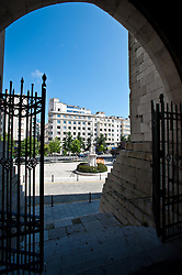 Cathedral Plaza, Santander, Spain<br /> <br /> (c) Andrew Wilson | Edinburgh Elite media