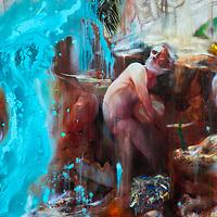 Nigel Cooke: Painter's Beach Club. Jerwood. Jan 2019