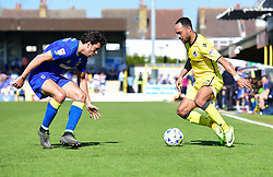 Byron Moore of Bristol Rovers attacks down the wing. - Mandatory by-line: Alex James/JMP - 08/04/2017 - FOOTBALL - Cherry Red Records Stadium - Kingston upon Thames, England - AFC Wimbledon v Bristol Rovers - Sky Bet League One