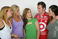 I AM INDY photo shoot. Dan Wheldon