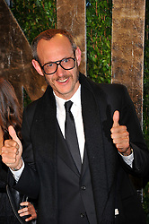 Terry Richardson arriving at the 2012 Vanity Fair Oscar Party, hosted by Graydon Carter, held at the Sunset Tower Hotel in Los Angeles, CA on February 26, 2012. Photo by Vince Bucci/ABACAPRESS.COM
