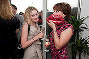 KEELEY WALKER; KATHY LETTE, Terry Ronald - book launch party for his book ' Becoming Nancy' . The Westbury Hotel, Pine Room, Bond Street, London, W1S 2YF<br /> -DO NOT ARCHIVE-&copy; Copyright Photograph by Dafydd Jones. 248 Clapham Rd. London SW9 0PZ. Tel 0207 820 0771. www.dafjones.com.