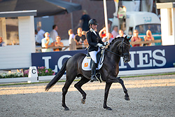 Van Gijtenbeek Esmee, NED, Hot Chocolate<br /> World ChampionshipsYoung Dressage Horses<br /> Ermelo 2018<br /> © Hippo Foto - Dirk Caremans