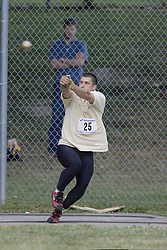 Baines, Jason competing in senior men's hammer throw  at the 2007 OTFA Junior-Senior Championships held in Ottawa from 30 June to July 1.