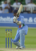 .24/06/2002.Sport - Cricket - .One day game 50 overs - Kent CC vs India.St Lawrence Ground - Canterbury.Harbhajan Singh.