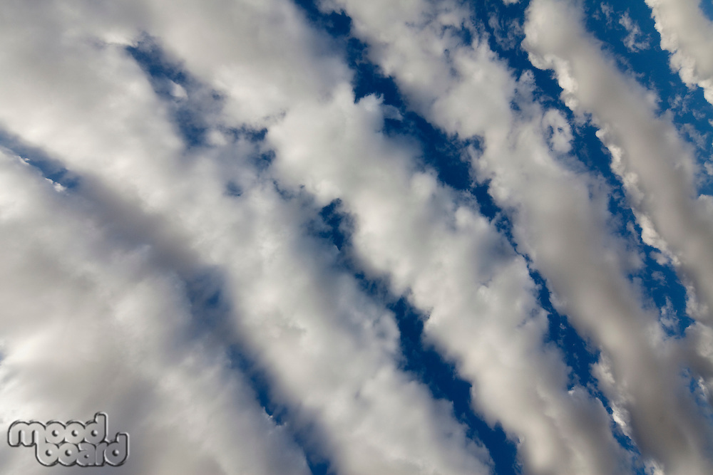 Below view of clouds