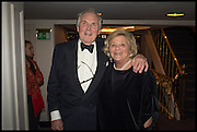 LORD HINDLIP; DAME VIVIEN DUFFIELD; , The Old Russian New Year's Eve Gala. In aid of the Gift of Life foundation. Savoy Hotel, London. 13 January 2015.