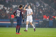 Ivan SANTINI (SM Caen) scored a goal from penalty, Neymar da Silva Santos Junior - Neymar Jr (PSG) during the French Championship Ligue 1 football match between Paris Saint-Germain and SM Caen on December 20, 2017 at Parc des Princes stadium in Paris, France - Photo Stephane Allaman / ProSportsImages / DPPI