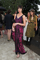 ERIN O'CONNOR at the annual Serpentine Gallery Summer Party sponsored by Burberry held at the Serpentine Gallery, Kensington Gardens, London on 28th June 2011.