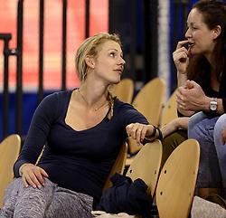 01-06-2014 NED:  Vriendschappelijk Nedeland - Belgie, Eindhoven<br /> Nederland wint met 3-2 van Belgie / Debby Stam-Pilon