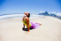 Caru Schultz at Ipanema Beach, Rio do Janeiro