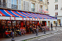 France, Paris (75), Café Le Bonaparte, place Saint Germain des Près