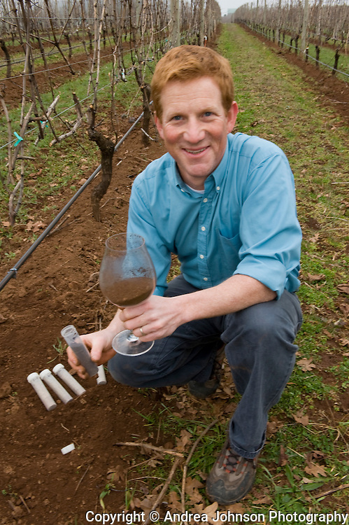 Patrick Reuter, portrait, winemaker