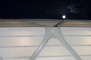 The moon rises above the roof of the Arena da Amazonia in Manaus, Brazil<br /> Picture by Andrew Tobin/Focus Images Ltd +44 7710 761829<br /> 12/06/2014