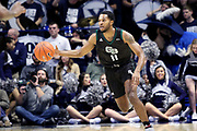 Green Bay guard JayQuan McCloud (11) during an NCAA college basketball game against Xavier, Wednesday, Dec. 4, 2019, in Cincinnati. Xavier defeated Green Bay 84-71 (Jason Whitman/Image of Sport)