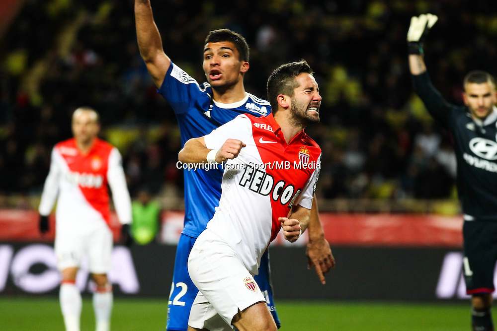 Joao MOUTINHO - 01.02.2015 - Monaco / Lyon - 23eme journee de Ligue 1 -<br />Photo : Serge Haouzi / Icon Sport