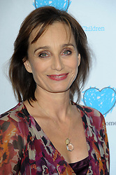 Kristin Scott Thomas during the premiere of 'Finding Family', London, United Kingdom. Tuesday, 5th November 2013. Picture by Chris Joseph / i-Images