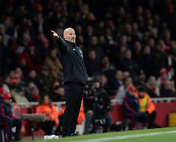 LONDON, ENGLAND - Thursday, December 5, 2019: Arsenal's care-taker manager Fredrik Ljungberg during the FA Premier League match between Arsenal FC and Brighton & Hove Albion FC at the Emirates Stadium. (Pic by Vegard Grott/Propaganda)