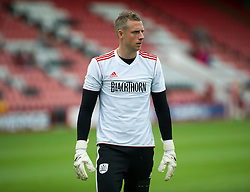 Bristol City's Elliot Parish - Photo mandatory by-line: Dougie Allward/JMP - Tel: Mobile: 07966 386802 27/03/2013 - SPORT - FOOTBALL - Goldsands Stadium - Bournemouth -  Bournemouth V Bristol City - Pre Season friendly
