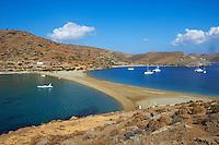 Grece, Cyclades, ile de Kythos, plage de Kolona // Greece, Cyclades islands, Kythnos, Kolona beach