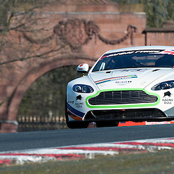 Complete Racing, Steven Chaplin & Tom Wilson, Aston Martin GT4, GT4 during qualifying and practice at the first round of the Avon Tyres British GT Championship held at Oulton Park, Cheshire, UK on the 30th March 2013 WAYNE NEAL | STOCKPIX.EU