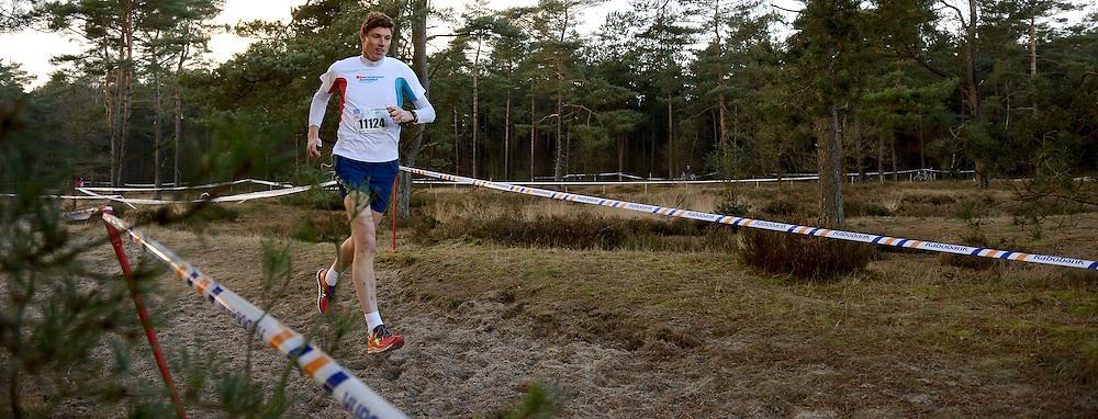 31-12-2014 NED: Rabobank Sylvestercross, Soest<br /> Bas van de Goor op de Prestatieloop 6,1 km