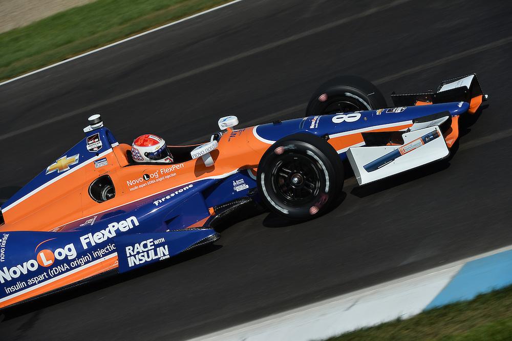 Charlie Kimball, Grand Prix of Indianapolis, Indianapolis Motor Speedway, Indianapolis, IN USA 5/10/2014