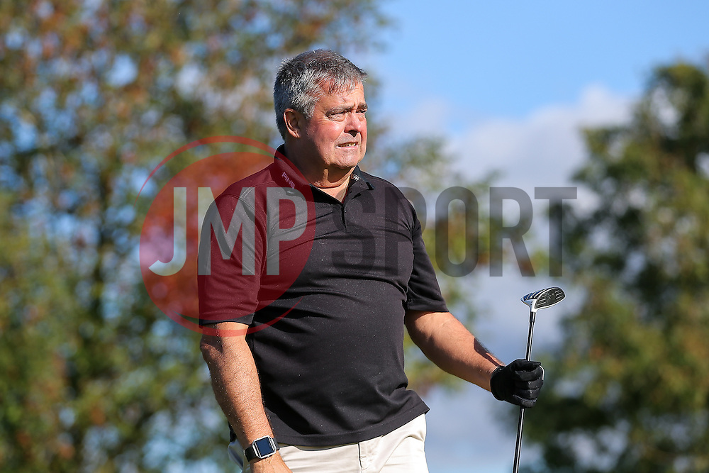 Nick Higgs joins team Lupi Solitari as they take part in the annual Bristol Rovers Golf Day - Rogan Thomson/JMP - 10/10/2016 - GOLF - Farrington Park - Bristol, England - Bristol Rovers Golf Day.