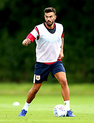 Marlon Pack in action as Bristol City return to training ahead of their 2017/18 Sky Bet Championship campaign - Mandatory by-line: Robbie Stephenson/JMP - 30/06/2017 - FOOTBALL - Failand Training Ground - Bristol, United Kingdom - Bristol City Pre Season Training - Sky Bet Championship