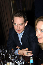 Actor TOM HOLLANDER at a party to celebrate the opening of W'Sens - a new fine french restaurant at 12 Waterloo Place, London SW1 on 10th December 2004.<br />