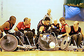 Wheelchair Rugby Tournament. Nottingham University. Sat 29-09-2007