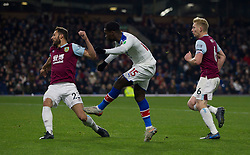 Jeffrey Schlupp of Crystal Palace scores his sides second goal - Mandatory by-line: Jack Phillips/JMP - 30/11/2019 - FOOTBALL - Turf Moor - Burnley, England - Burnley v Crystal Palace - English Premier League