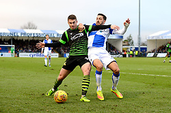 Liam Sercombe of Bristol Rovers challenges for the ball with Rowe of Doncaster Rovers - Mandatory by-line: Dougie Allward/JMP - 23/12/2017 - FOOTBALL - Memorial Stadium - Bristol, England - Bristol Rovers v Doncaster Rovers - Skt Bet League One