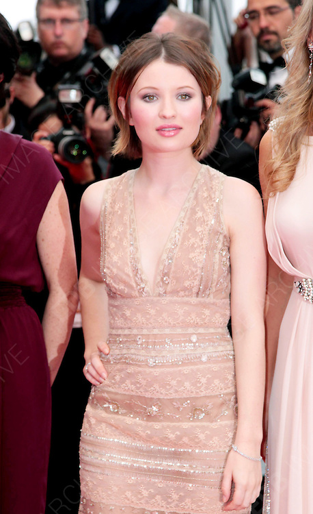 12.MAY.2011. CANNES<br /> <br /> EMILY BROWNING ARRIVING ON THE RED CARPET FOR THE SLEEPING BEAUTY PREMIERE AT THE 64TH CANNES INTERNATIONAL FILM FESTIVAL 2011 IN CANNES, FRANCE.<br /> <br /> BYLINE: EDBIMAGEARCHIVE.COM<br /> <br /> *THIS IMAGE IS STRICTLY FOR UK NEWSPAPERS AND MAGAZINES ONLY*<br /> *FOR WORLD WIDE SALES AND WEB USE PLEASE CONTACT EDBIMAGEARCHIVE - 0208 954 5968*