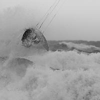 Kitesurf à Carro. Tempête du 24 Décembre