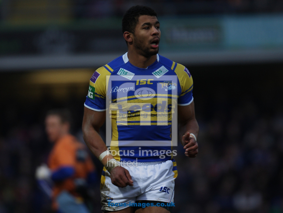 Picture by Stephen Gaunt/Focus Images Ltd +447904 833202.07/04/2013.Kallum Watkins of Leeds Rhinos against Warrington Wolves during the Super League match at Headingley Carnegie Stadium, Leeds.