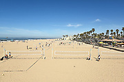Sand Volleyball Courts at Downtown Huntington Beach
