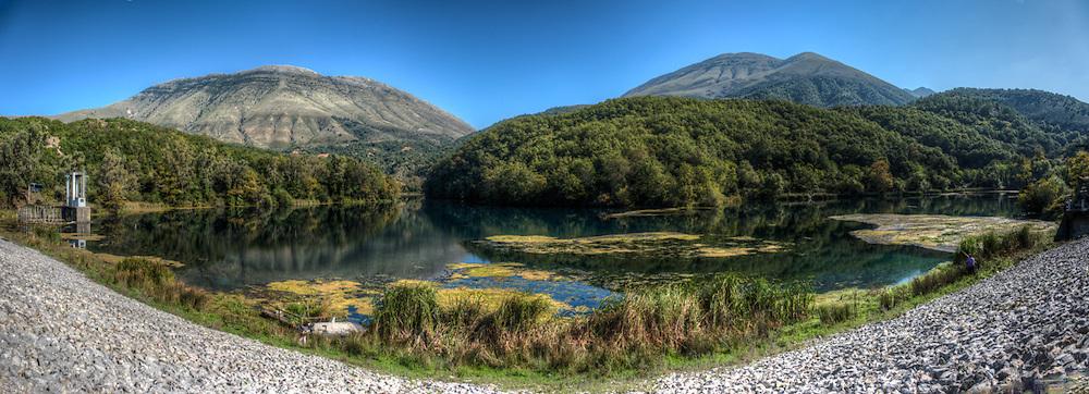 Landscape in Albania