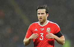 Adam Matthews of Wales - Mandatory by-line: Dougie Allward/JMP - Mobile: 07966 386802 - 24/03/2016 - FOOTBALL - Cardiff City Stadium - Cardiff, Wales - Wales v Northern Ireland - Vauxhall International Friendly