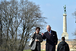 16.03.2016, Belgrad, SRB, der Britische Kronprinz Charles und seine Frau Camilla besuchen Serbien, im Bild British Crown Prince Charles and his wife Camilla, the Duchess of Cornwall, are visiting Serbia as part of a regional tour that includes Croatia, Serbia, Montenegro and Kosovo. They visited Kalemengdan, the biggest park in Belgrade with historical fortress. EXPA Pictures © 2016, PhotoCredit: EXPA/ Pixsell/ Srdjan Ilic<br /> <br /> *****ATTENTION - for AUT, SLO, SUI, SWE, ITA, FRA only*****
