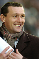 Photo: Leigh Quinnell.<br /> Watford v Stoke City. Coca Cola Championship.<br /> 14/01/2006. A good day at the office for Watford boss Aidy Boothroyd.