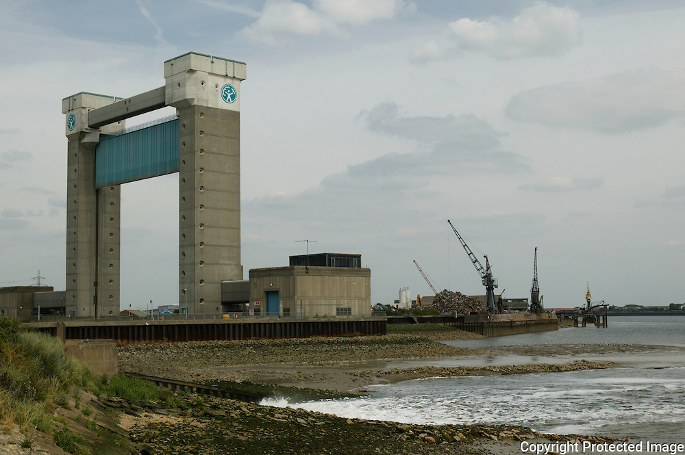 Beckton Sewage Treatment Works Northern Outfall & Barking