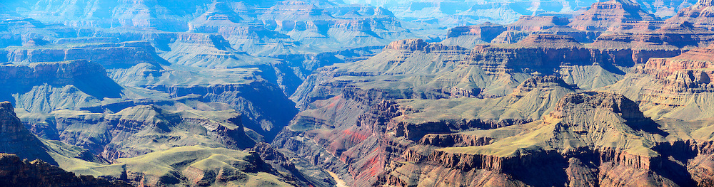 Panorama of Grand Canyon.