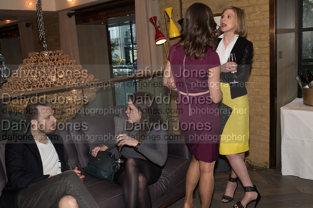 ADAM GUEST; RACHAEL JEVONS; PIPPA MIDDLETON; ELIZABETH PELLY, Spectator Life - 3rd birthday party. Belgraves Hotel, 20 Chesham Place, London, SW1X 8HQ, 31 March 2015