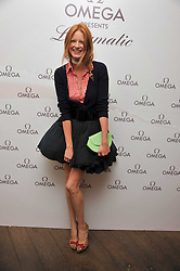 OLIVIA INGE at a pool party to celebrate the UK launch of the Omega Ladymatic Collection held at the Haymarket Hotel, Haymarket, London on 16th June 2011.