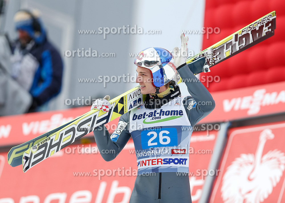 04.01.2014, Bergisel Schanze, Innsbruck, AUT, FIS Ski Sprung Weltcup, 62. Vierschanzentournee, Bewerb, im Bild Gregor Schlierenzauer (AUT) // Gregor Schlierenzauer of Austria during Competition of 62nd Four Hills Tournament of FIS Ski Jumping World Cup at the Bergisel Schanze, Innsbruck, Austria on 2014/01/04. EXPA Pictures © 2014, PhotoCredit: EXPA/ Peter Rinderer