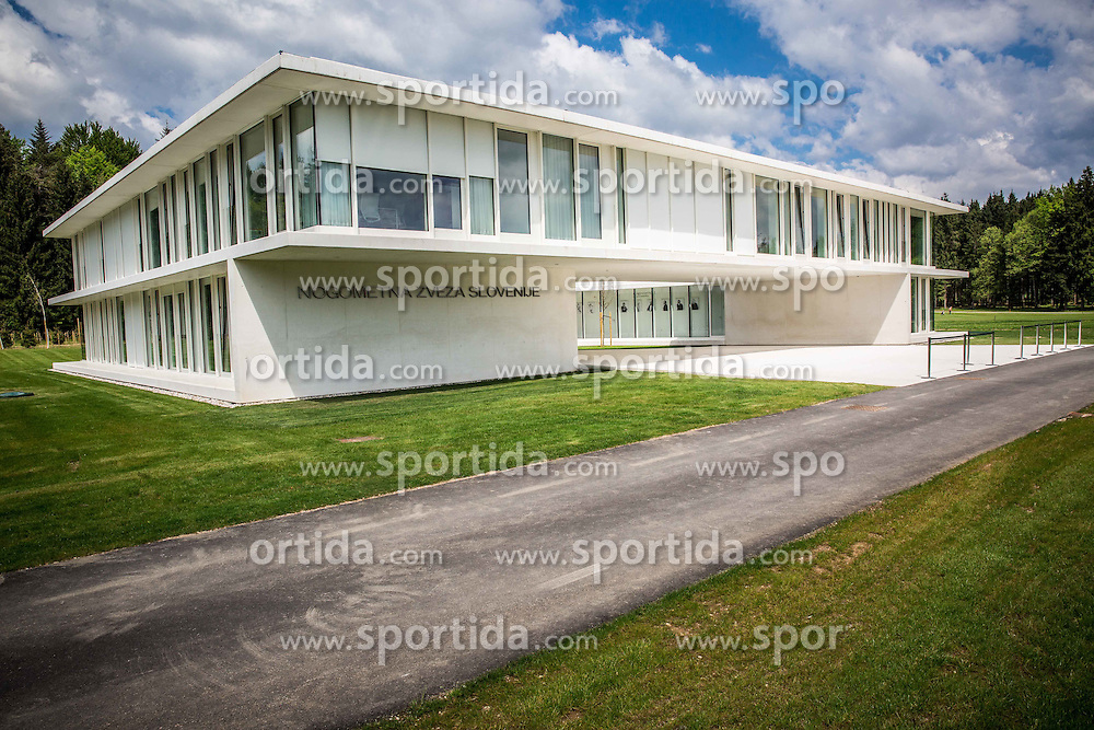 Headquarters of NZS (Football Association of Slovenia) - National football training centre one day before it's opening, on May 5, 2016 in Brdo pri Kranju, Slovenia. Photo by Vid Ponikvar / Sportida
