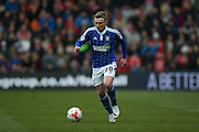 Ipswich Town striker Freddie Sears (20)  during the Sky Bet Championship match between Middlesbrough and Ipswich Town at the Riverside Stadium, Middlesbrough, England on 23 April 2016. Photo by Simon Davies.